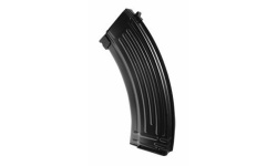 30-rd Gas Magazine for AK GBB series (metal shell-Black) - MG-AKPMC
