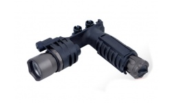 M910A VERTICAL FOREGRIP WEAPONLIGHT (No SF LETTERING) - EX 202-BK