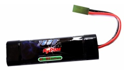 Kypom NiMh 9.6V 1600mAh  mini type block battery- KYP-9.6-1600-mini