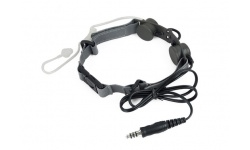 TACTICAL THROAT MIC - Z 033-FG